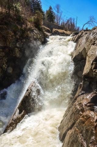 High Falls Gorge falls
