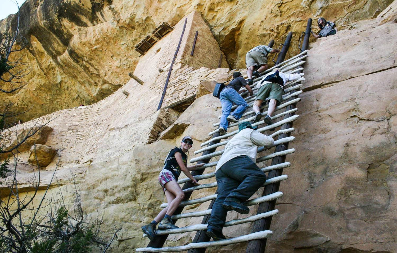 Mesa Verde Balcony House - Albany Kid Family Travel