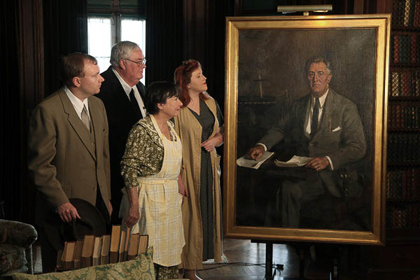 The Roosevelt Story In Hyde Park, New York