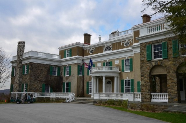 FDR Home - Springfield Mansion - Hyde Park, NY