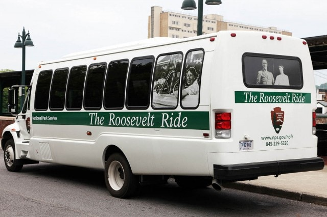 Roosevelt Ride shuttle service in Hyde Park, NY.