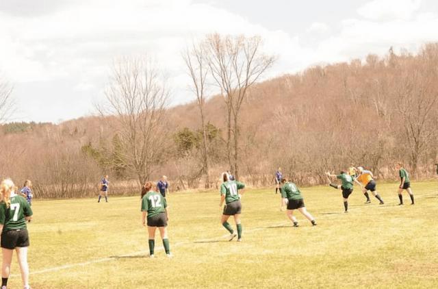 Rugby Defensive line of Rensselaer Dragons