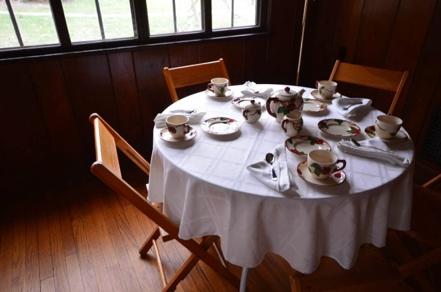 Cottage Conversations - Stone Cottage - Eleanor Roosevelt National Historic Site - Hyde Park , NY