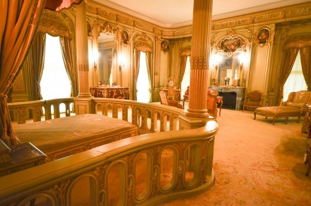 Vanderbilt Mansion - bedroom - Hyde Park, NY