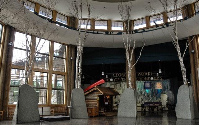 Wild Center - Entrance