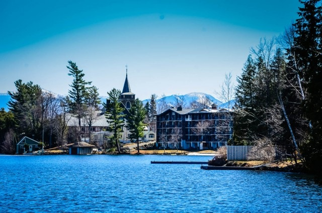 Golden Arrow Lakeside Resort on Mirror Lake. | Lake Placid, NY