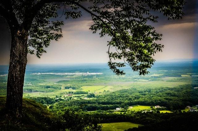 Thatcher Park Scenic Overlook