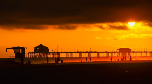 Sunset - Huntington Beach - CA-1