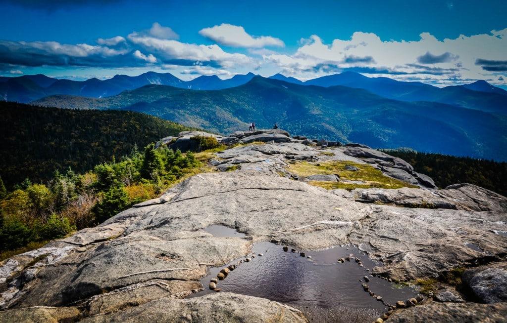 Cascade Mountain - summit view.