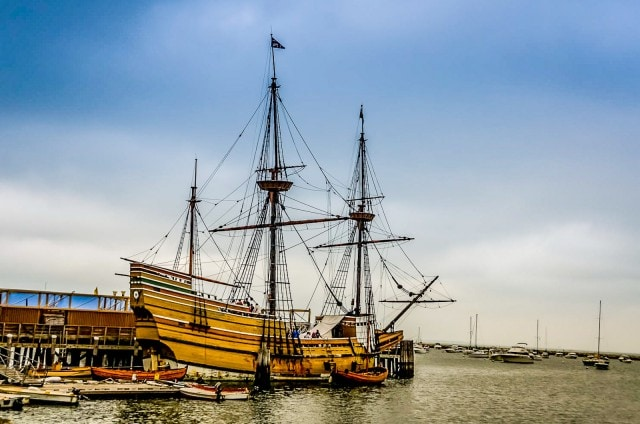 Mayflower II - Plymouth MA