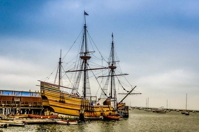 Mayflower II - Plymouth MA