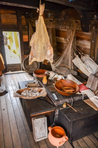 Mayflower II galley - Plymouth MA
