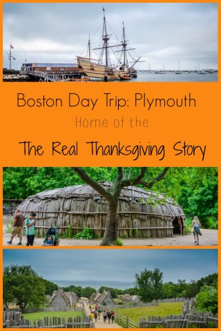Visit Plymouth - Home of the Real Thanksgiving Story -- Just a short day trip from Boston.
