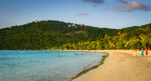 Magens Bay Beach - St. Thomas, US Virgin Islands